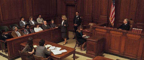 Crminal courtroom environment