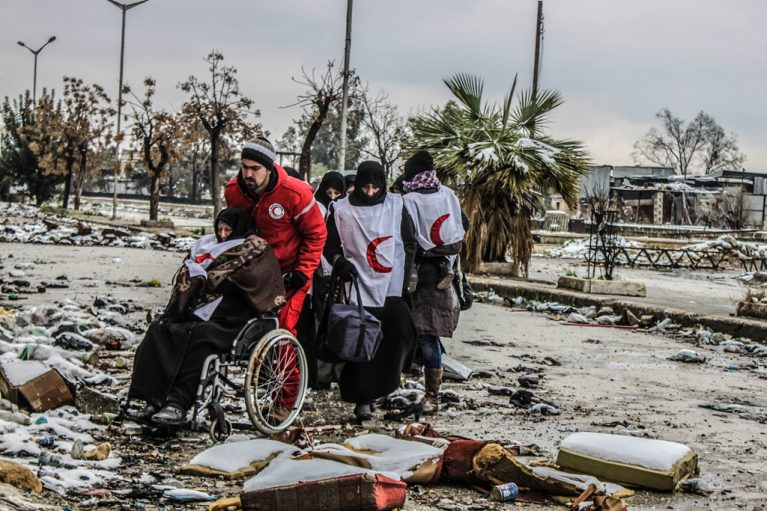 medical crisis in Syria